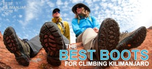 best boots for climbing Kilimanjaro