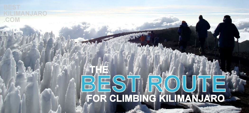 best kilimanjaro route